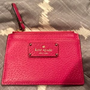 Kate Spade ID Holder or Wallet Pink